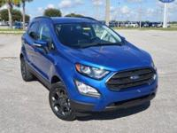 This very clean, low mileage Ford EcoSport SES 4WD