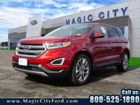 This 2018 Ford Edge Titanium boasts features like a