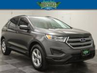Magnetic Metallic 2018 Ford Edge SE FWD 6-Speed
