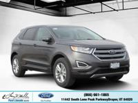 Boasts 27 Highway MPG and 20 City MPG! This Ford Edge
