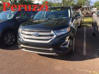 CARFAX One-Owner. Clean CARFAX. Black 2018 Ford Edge