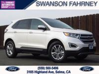 26 17 Highway City MPG 2018 Ford Edge 4D Sport Utility