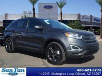 This 2018 Ford Edge SEL includes a backup sensor, push