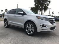 2018 Ford Edge Ingot Silver Sport AWD 6-Speed Automatic