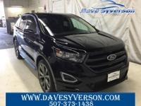 Shadow Black 2018 Ford Edge Sport AWD 6-Speed Automatic