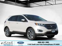 Scores 27 Highway MPG and 20 City MPG! This Ford Edge