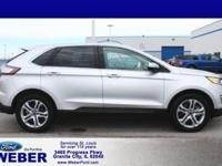 Recent Arrival! Silver 2018 Ford Edge * BLUETOOTH *, *