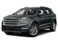 White Platinum Clearcoat Metallic 2018 Ford Edge
