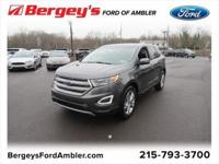 Magnetic 2018 Ford Edge Titanium AWD 6-Speed Automatic