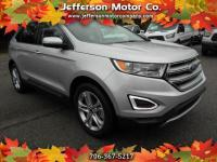 This 2018 Ford Edge Titanium is the low mileage well