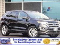 Scores 29 Highway MPG and 20 City MPG! This Ford EDGE