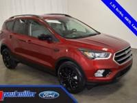 2018 Ford Escape SE with dressed in Ruby Red Metallic