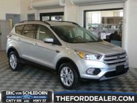 Ingot Silver 2018 Ford Escape SE 4WD 6-Speed Automatic