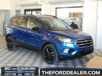 Lightning Blue Metallic 2018 Ford Escape SE 4WD 6-Speed