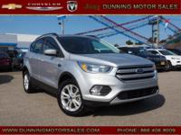 Silver 2018 Ford Escape SE 4WD 6-Speed Automatic