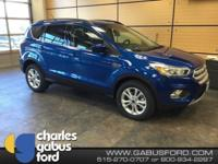New Price! Lightning Blue Metallic 2018 Ford Escape SEL