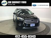 Recent Arrival! Certified. 2018 Ford Escape SEL 4WD