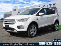 This 2018 Ford Escape Titanium boasts features like a