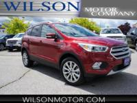Ruby Red Metallic 2018 Ford Escape Titanium 4WD 6-Speed