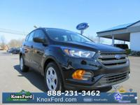 Shadow Black 2018 Ford Escape S FWD 6-Speed Automatic