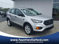 Ingot Silver 2018 Ford Escape S FWD 6-Speed Automatic