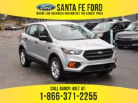*2018 Ford Escape S* - Sports Utility Vehicle - I4 2.5L