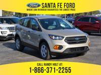 *2018 Ford Escape S - *Sports Utility Vehicle - I4 2.5L