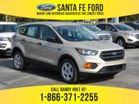 *2018 Ford Escape S - *Sports Utility Vehicle - I4 2.4L