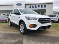 Oxford White 2018 Ford Escape S FWD 6-Speed Automatic