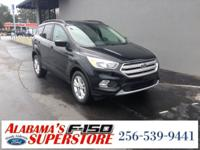 Escape SE, Equipment Group 200A. Shadow Black 2018 Ford