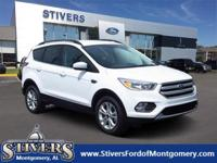 New Price! Oxford White 2018 Ford Escape SE FWD 6-Speed