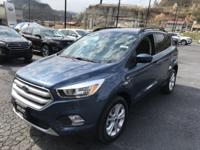 Blue 2018 Ford Escape SE FWD 6-Speed Automatic EcoBoost