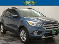 Blue Metallic 2018 Ford Escape SE FWD 6-Speed Automatic