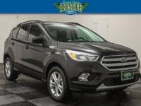 Shadow Black 2018 Ford Escape SE FWD 6-Speed Automatic