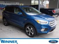 Lightning Blue Metallic 2018 Ford Escape SEL FWD