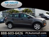 CARFAX One-Owner. Clean CARFAX. 2018 Ford Escape S FWD