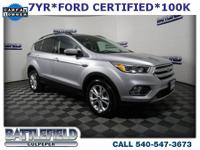 2018 Ford Escape SE Ingot Silver Metallic Equipment