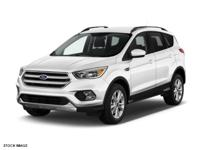 Meet our 2018 Ford Escape SE 4WD in Oxford White and