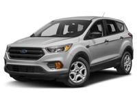 New Price! Ingot Silver 2018 Ford Escape SE 4WD 6-Speed