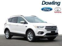 CARFAX One-Owner. Clean CARFAX.White 2018 Ford Escape