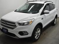 Clean CARFAX. CARFAX One-Owner. Oxford White 2018 Ford