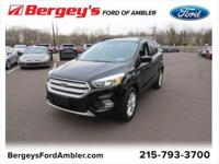 Shadow Black 2018 Ford Escape SE 4WD 6-Speed Automatic