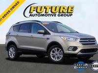 ***WOW! FLAWLESS 2018 FORD CERTIFIED ESCAPE SE! **REAR