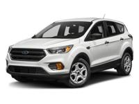 The 2018 Ford Escape is a capable SUV. It has versatile