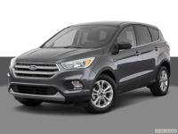 F 2018 Ford Escape SE FWD 6-Speed Automatic EcoBoost