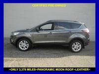 Ford CERTIFIED*** All smiles! Great MPG: 30 MPG Hwy..