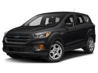 Shadow Black 2018 Ford Escape SEL FWD 6-Speed Automatic
