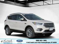 Boasts 27 Highway MPG and 20 City MPG! This Ford Escape