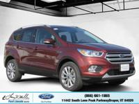 Scores 27 Highway MPG and 20 City MPG! This Ford Escape