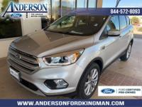 This Ford Escape has a strong Intercooled Turbo Premium